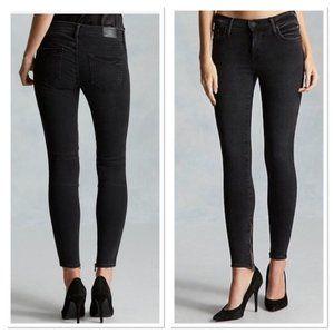 True Religion Halle Skinny Jeans in Black Size 28